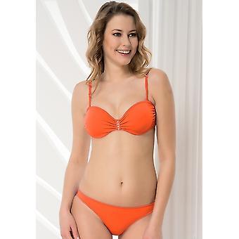 Aqua Perla - Womens - Fiji - Orange- Bikini Bottom
