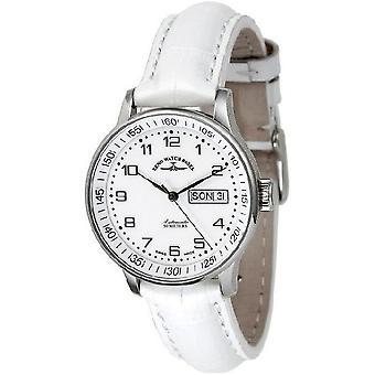 Zeno-horloge mens watch middelgroot wit 336DD-c2