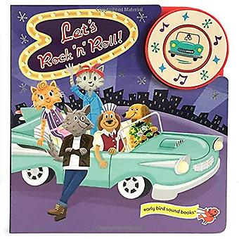 Let's Rock and Roll (1 Button Sound Book) [Board book]