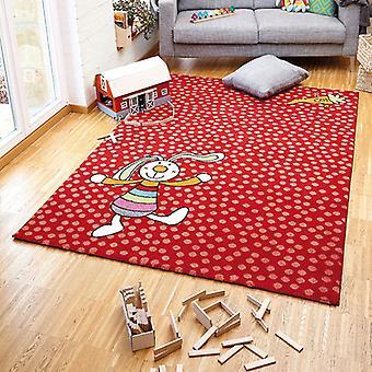 Teppiche - Sigi-Kid Regenbogen Kaninchen rot - SK 0523-02