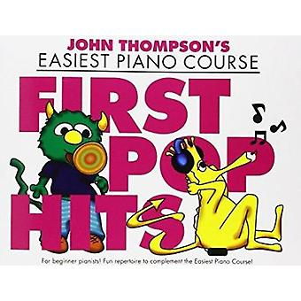 John Thompson's Easiest Piano Course - First Pop Hits - 9781783056521