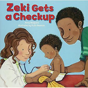Zeki Gets a Check Up by Anna McQuinn - 9781907825200 Book