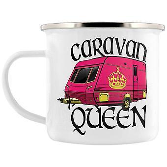 Grindstore Caravan Queen Enamel Mug