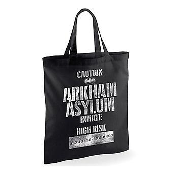 Batman Arkham Asylum Inmate Tote Bag