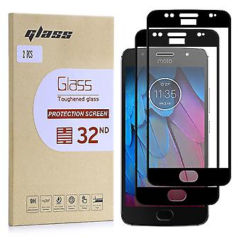 Extra Armoured Tempered Glass for Motorola Moto G5S - 2 Pack
