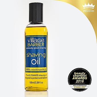 Premium shaving oil