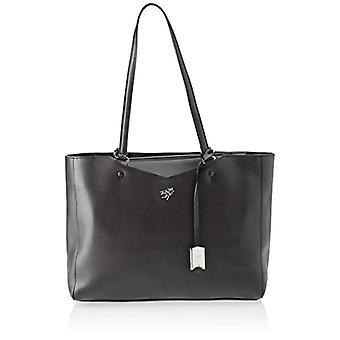 piero drive 210881082 Black Woman shoulder bag 34 x 26 x 11 cm