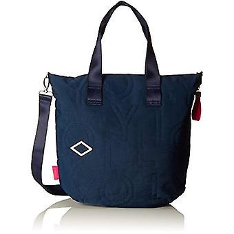 Oilily Spell Shopper Lvz - Donna Blau Bucket Bags (Dark Blue) 10x38x32 cm (B x H T)