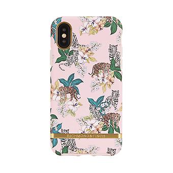 Richmond & Finch shells voor IPhone XS Max-Pink Tiger