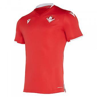 2019-2020 Piacenza autentiska hemma match skjorta
