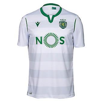 2019-2020 سبورتينغ لشبونة أصيلة قميص المباراة الثالثة