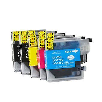 LC39 Compatible Inkjet Cartridge Set 5 Cartridges d'encre [Boxed Set]