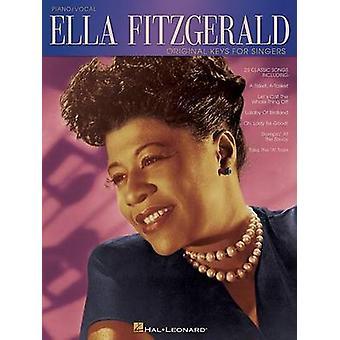 Ella Fitzgerald Original Keys for Singers by Ella Fitzgerald - 978063