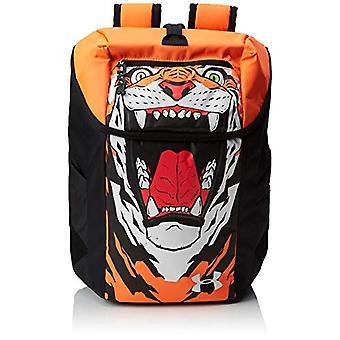 Under Armour UA Flipside Backpack - Unisex Backpack Adult - Black (Black/Orange Glitch/White) - Single Size