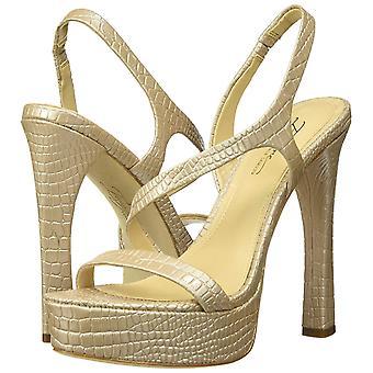 Imagine Vince Camuto Women's Prent Heeled Sandal, Natural, 7 Medium US