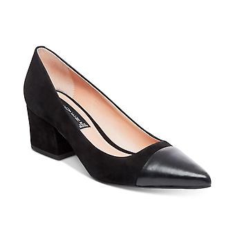 Steven by Steve Madden Womens joy Suede Pointed Toe D-orsay Pumps