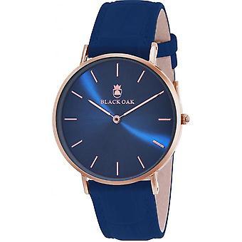 Black Oak BX8300R-817 - watch leather blue woman