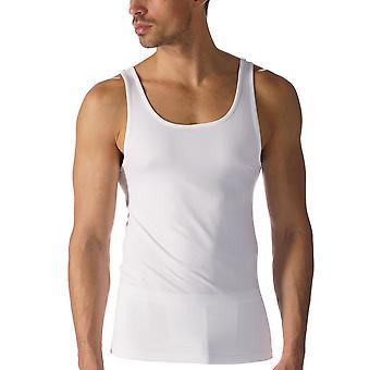 Mey 42600-101 mäns programvara vit färg linne Vest