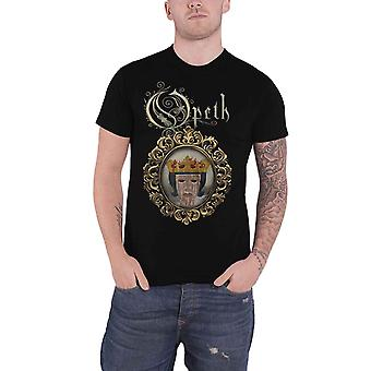 Opeth T Shirt Crown in cauda venenum Band Logo Back Print Official Mens Black