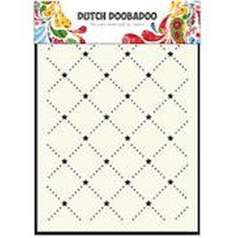 Dutch Doobadoo A5 Mask Art Stencil - Screen of Stars #5031