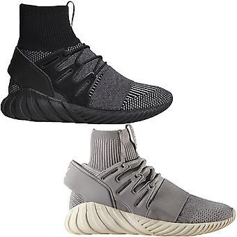 adidas Originals Mens Tubular Doom Primeknit Ankle Sock Lace Up Sports Trainers Adidas
