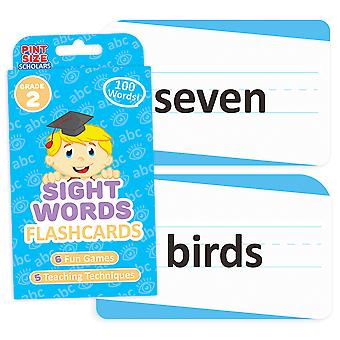 Sight Words Flashcards, Segundo Grado