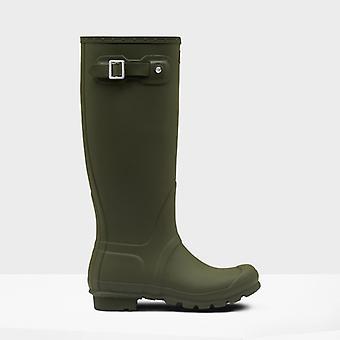 Hunter Original Tall Ladies Rubber Wellington Boots Dark Olive
