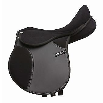 Shires Unisex HiLite Elite Gymkhana Pony Saddle