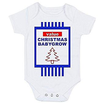 Value christmas babygrow