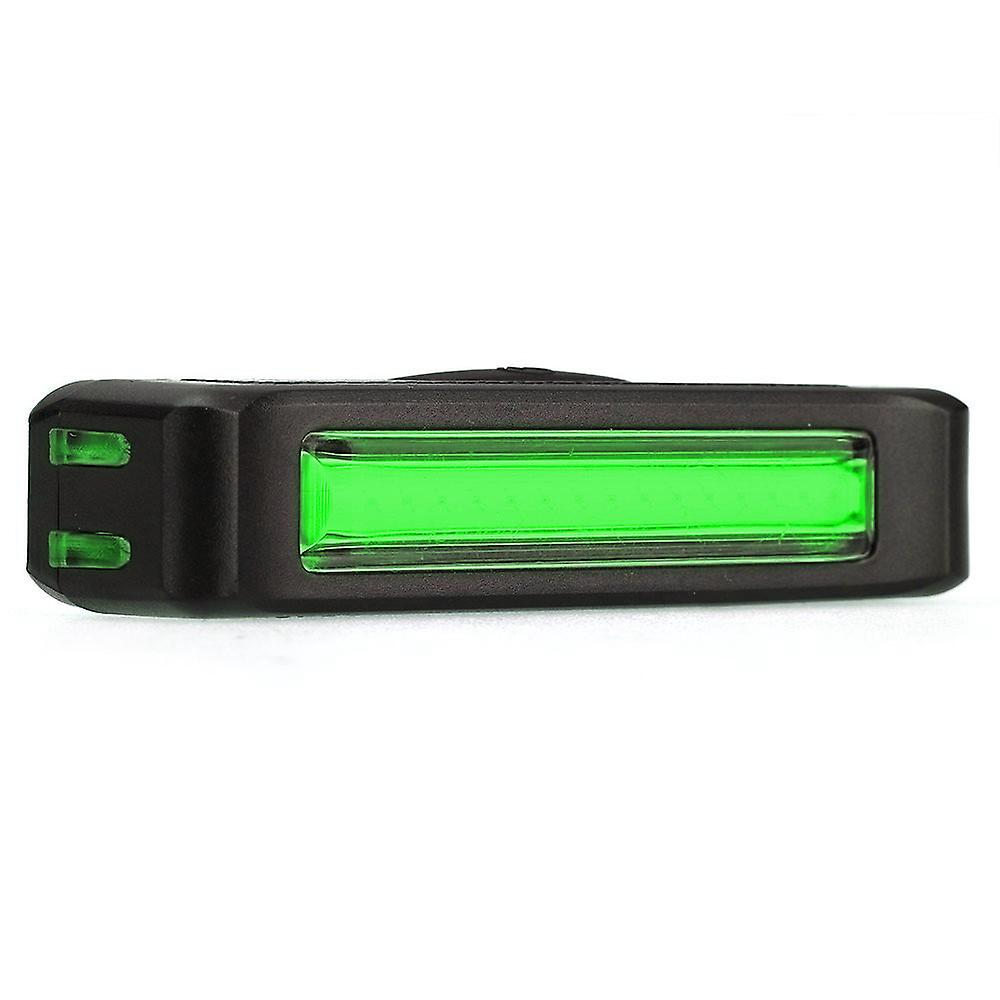 TRIXES Rechargeable Bright Red and Green LED Strip Bike Front/Tail Light