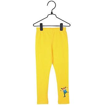 Pippi Longstocking legginsy żółty