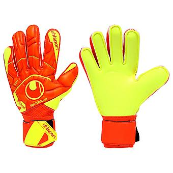 UHLSPORT DYNAMIC IMPULSE SOFT FLEX FRAME Goalkeeper Gloves Size