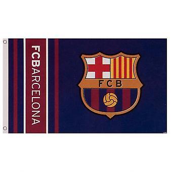 FC Barcelona Wordmark striber Flag