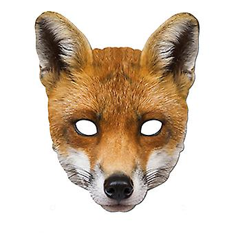 Fox Animal Card Party Fancy kjole maske