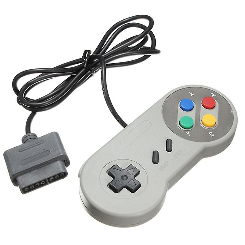 Retro SNES Compatible Replacement Controller Gamepad - By TRIXES