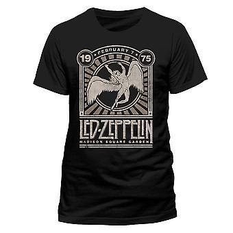 Led Zeppelin Madison Square Gardens Rock Official T-Shirt