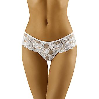 Wolbar Women's Deva Floral Lace Knickers Panty Full Brief