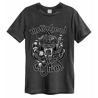 Camiseta amplificada do Motorhead Snaggletooth Mens