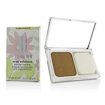 Clinique Acne Solutions Maquiagem em pó - # 21 Cream Caramelo (m-g) 10g/0,35oz