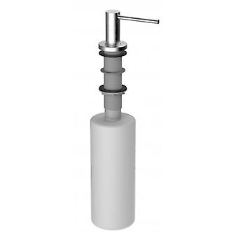 Stainless Steel Soap Dispenser - Fillable From The Top - 496