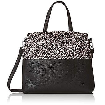 Tom Tailor 24055 Black Women's Bag (Schwarz/sand 62)) 7x32x36.5 cm (B x H x T)