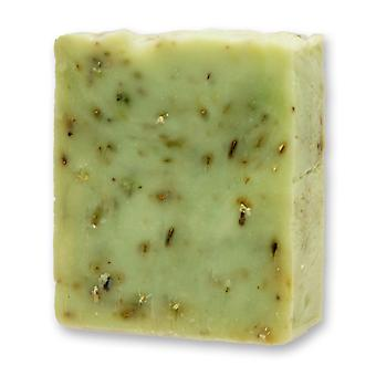 Florex cold stirred sheep's milk soap - iron herb - fresh strong citrus scent invigorates the senses with herbs 150 g