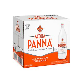 Acqua Panna Spring Vann-( 750 Ml X 12 Flasker )