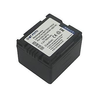 Hitachi DZ-BP14 erstatningsbatteriet fra Dot.Foto - 7.2V / 1800mAh - 2 års garanti [se beskrivelse for kompatibilitet]
