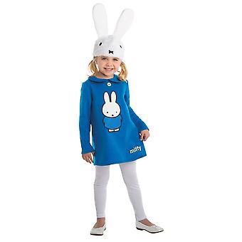 Miffy Småbarn Kostyme