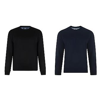 Kam Jeanswear Mens Basic Sweatshirt