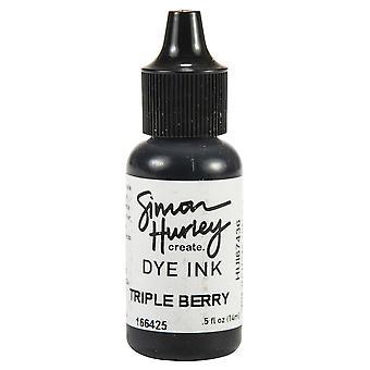 サイモン・ハーリーが作成します。染料インク・リンカー - トリプルベリー
