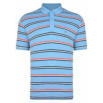 PETER GRIBBY Peter Gribby Stripe Pique Polo