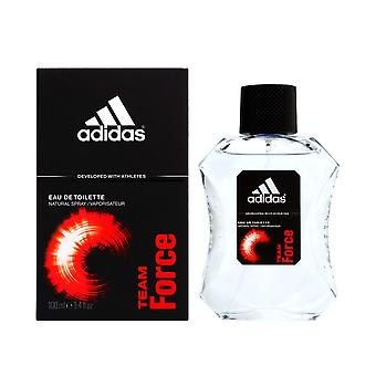 Adidas team force by coty for men 3.4 oz eau de toilette spray