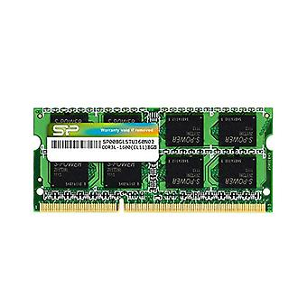 Silicon Power 8GB-DDR3L-1600MHz (PC3 12800) 204 Pin CL11 1.35V Non-ECC Unbuffered SODIMM, Low Tension laptop memory module and Power Saver